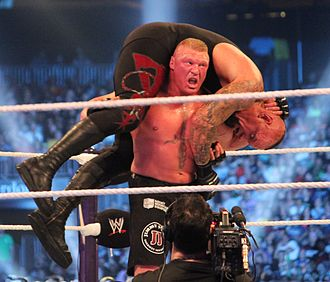 WrestleMania XXX - One of three F5s that Brock Lesnar performed on the Undertaker. The third ended the Undertaker's 21–0 undefeated streak at WrestleMania