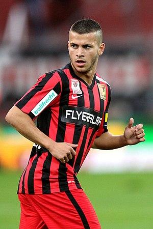 Srđan Spiridonović - Image: FC Admira Wacker vs. SK Sturm Graz 2015 27 05 (065)
