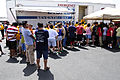 FEMA - 37333 - Residents wait in line for clothing in Texas.jpg