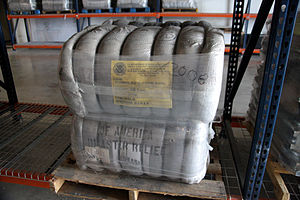Strapping - Softgoods strapped in a bale or bundle