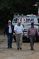FEMA - 43921 - Federal Coordinating Officer and Governor at Disaster Area.jpg