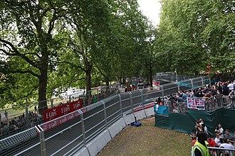 Battersea Park Street Circuit - The circuit ran through Battersea Park