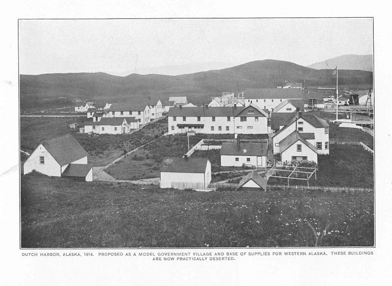 File:FMIB 49238 Dutch Harbor, Alaska, 1914, proposed as a model government village and base of supplies for western Alaska These buildings are.jpeg