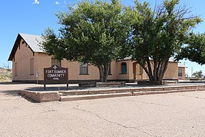 National Register of Historic Places listings in De Baca County, New Mexico - Image: FORT SUMNER COMMUNITY HOUSE