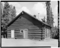 FRONT, LOOKING EAST - Mount McKinley Headquarters, Warehouse, Cantwell, Denali Borough, AK HABS AK,23-MCKIN,1-F-1.tif