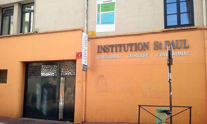 File:Façade Institution Saint-Paul.jpg