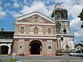 Facade of St. Sebastian the Martyr Church in Lumban, Laguna.jpg