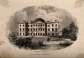 Facade of the Royal Infirmary, Aberdeen. Engraving by W. Ban Wellcome V0012129.jpg