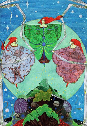 Harry Clarke - Image: Fairy Tales by Hans Andersen (Harry Clarke)