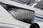 Falcon 50 centre engine S-duct2.JPG