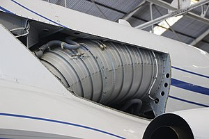 S-duct - Dassault Falcon 50 S-duct