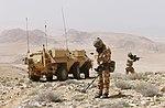 Falcon Sqn FUCHS vehicle in Jordan MOD 45164571.jpg