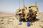Falcon Sqn FUCHS vehicle in Jordan MOD 45164580.jpg