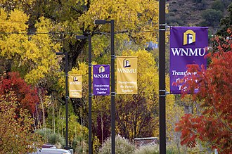 Western New Mexico University - Image: Fall 2012 WNMU campus