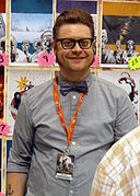 Fan Expo 2012 - Tony Moore 4 (7897405262).jpg