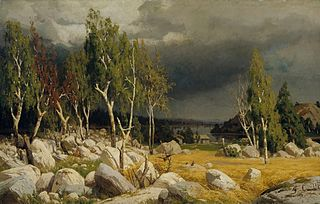 A Clearing, Uusimaa Landscape