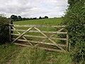 Farm gate - geograph.org.uk - 538713.jpg