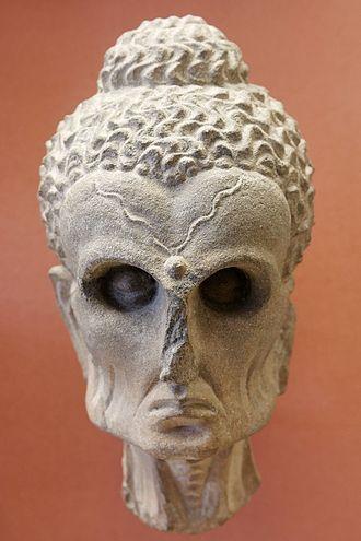 "Rawalpindi - The ""Fasting Buddha,"" on display at the British Museum in London, was discovered in Rawalpindi."