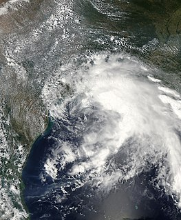 Tropical Storm Fay (2002) Atlantic tropical storm in 2002