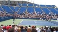File:Federer v. Clilic Practice with Crowd.webm
