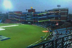 Sport in Delhi - Feroz Shah Kotla stadium, home of the Delhi Daredevils