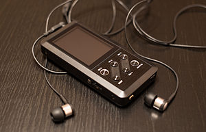 FiiO X Series - FiiO X3 with headphones