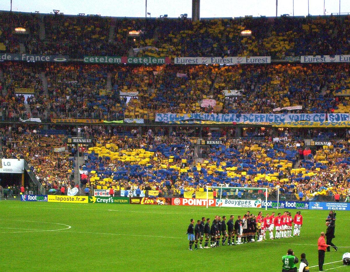 Coupe de la ligue fran aise de football 2002 2003 wikip dia - Stade de france coupe de la ligue ...