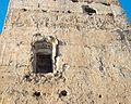 Finestra gòtica de la torre dreta de la part de davant, Palau-castell de Llutxent.JPG