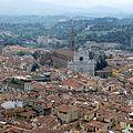 Firenze - Chiesa di Santa Croce da cupola Duomo.JPG
