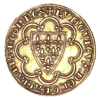 Écu - The first écu, issued by Louis IX of France, in 1266.