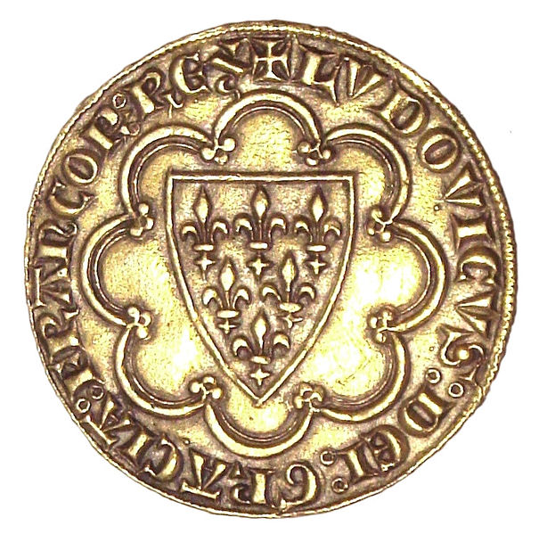 File:First écu, issued by Louis IX of France in 1266.jpg