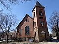 First Baptist Church Evansville ,Wis - panoramio.jpg