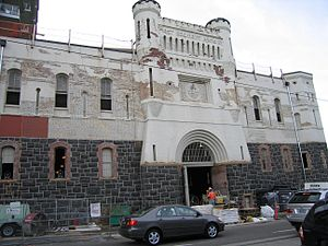 First Regiment Armory Annex - Portland Armory during renovation