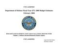 Fiscal Year 2005 DARPA budget.pdf