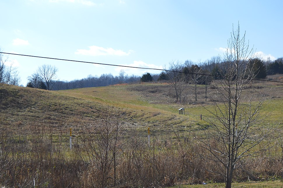Fisher's Hill battlefield, section at Ramseur's Hill