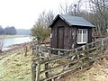 Fishing Hut, River Tweed - geograph.org.uk - 1704984.jpg