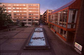 Fisksätra - Fisksätra Square in August 2004