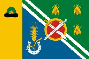 Rybnovsky District - Image: Flag of Rybnovsky rayon (Ryazan oblast)