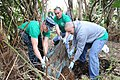 Flickr - Official U.S. Navy Imagery - Sailors work together during a base clean-up for Earth Day along the flight line of NAF Atsugi..jpg