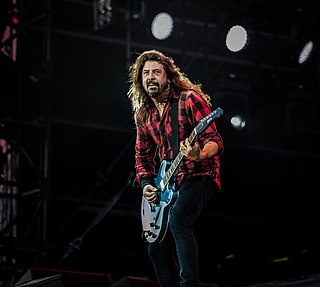 Dave Grohl American rock musician, multi-instrumentalist, and singer-songwriter