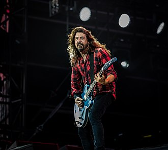 Dave Grohl - Grohl performing in June 2018