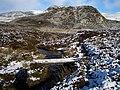 Footbridge below Meall na Moine - geograph.org.uk - 281566.jpg