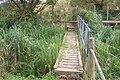 Footbridge near Chartham Corn Mill - geograph.org.uk - 1491772.jpg