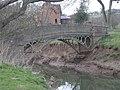 Footbridge over Borle Brook - geograph.org.uk - 741252.jpg