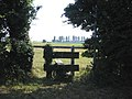 Footpath stile, Sandholme Lane, Frampton Marsh, Lincs - geograph.org.uk - 195575.jpg