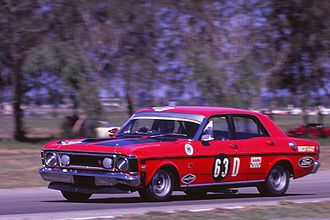 Ford Works Team (Australia) - Works Ford Falcon GTHO Phase II in 1970/71