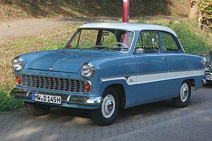 Ford Taunus P1 - Streifentaunus (1959 -1962)