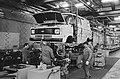 Fordfabriek in Amsterdam weer bezet i.v.m. dreigend ontslag werkzaamheden in de , Bestanddeelnr 931-5660.jpg