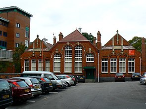Former Clarence Street Infants' school, Swindon - geograph.org.uk - 965461.jpg