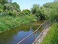 Former course of the Bedford power station goods railway - 9053499637.jpg